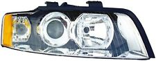 FITS 2002-2005 AUDI A4 DRIVER LEFT FRONT HEADLIGHT LAMP ASSEMBLY HALOGEN