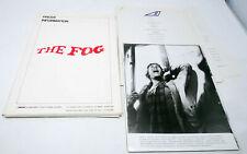 THE FOG John Carpenter Movie Promo Pressbook Press Kit Horror22 Photos