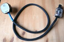 Russ Andrews 1m Classic Powerkord Hi-Fi Mains Cable Kimber, Wattgate & Superfuse