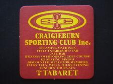CRAIGIEBURN SPORTING CLUB INC 53 GAMING MACHINES TABARET COASTER