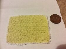 THE DOLLS HOUSE RUG OR BED COVER LEMON GREAT 4 ANY ROOM SO CUTE BRAND NEW