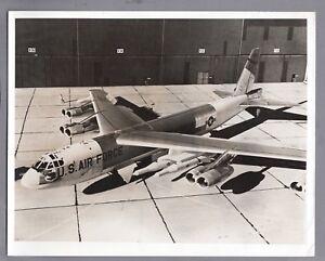 BOEING B-52H VINTAGE STAMPED ORIGINAL PRESS PHOTO USAF 1961
