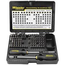 Wheeler 562194 Professional Gunsmithing Screwdriver Set 89 Pc