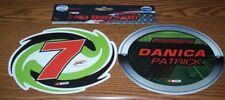 DANICA PATRICK #7 7X5 2 PACK R&R MAGNETS BRAND NEW!!