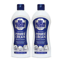 2 x Bar Keepers Friend All Purpose Power Cream 350ml