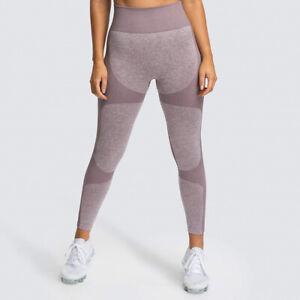 Women High Waist Push Up Leggings Yoga Fitness Pants Seamless Gym Sport Trousers
