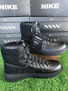 Men's Nike XARR Triple Black Water-Resistant Insulated Outdoor Boots BQ5240 001