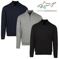 Greg Norman Lined Fashion 1/4 Zip Sweater Men's - NEW! 2020