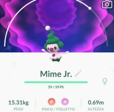 Pokemon go 💥💥shiny Mime Jr.💥💥 !! !!