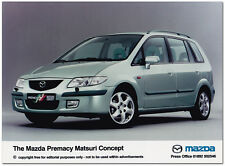 Mazda Premacy Matsuri Concept Press Release Photograph