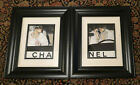 Framed Set of 2 Gouache Paintings of a 1990's Chanel Print Ad