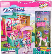 Shopkins Happy Places Happy Stables Playset With Exclusive Ponicakes Pony