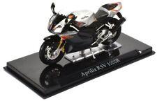 "Atlas ""superbike Collection"" Modellino Moto Aprilia RSV 1000r Scala 1.24"