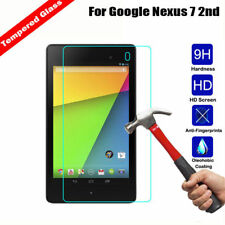 "Tempered Glass Film Screen Protector Cover For Google Nexus 7 7.0"" Tablet 2 Gen"