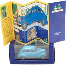 Collection En Voiture Tintin - N25 boîte + certificat / Editions Atlas