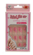 12 faux ongles a coller manucure onglerie art nail 1856