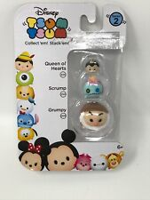 Disney Tsum Tsum 3 pack Series 2 Grumpy Scrump Queen of Hearts #49