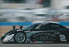 Andy WALLACE SIGNED Autograph 12x8 Photo AFTAL COA Pontiac Sports Car Le Mans