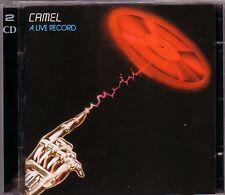 2 CD (NEU!) . CAMEL - A Live Record (dig.rem.+7 / Snow Goose mkmbh