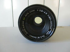 LENS OBJECTIF SUPER ALBINAR  MC AUTO ZOOM 1:3.8-4.5 f=80-200 mm pour CANON FD