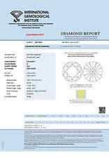 DIAMANT 0.30ct Brillant VS1 Top Wesselton (G) IGI