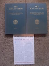 The Book of Birds, National Geographic Society 1937 2-vol set 950 ills VERY RARE