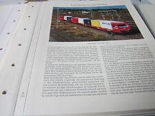 Deutsches Eisenbahn Archiv 16 Lokomotiven und Wagen 3603 CargoSprinter