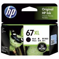 Genuine HP 67XL Black 3YM57AA Ink Cartridge HP Envy 6020 HP Envy Pro 6420