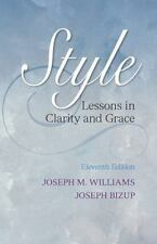 Style: Lessons in Clarity and Grace 11th Edition- FREE EXPEDITED SHIPPING