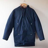 Woolrich Artic Parka Arctic Duck Down 550 Navy Blue Mens Jacket XXL / 2XL