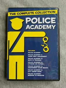 Police Academy: The Complete Collection (DVD, 2018, 4-Disc Set)
