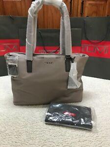 Tumi Monika Tote  100% Leather Large Tote Travel Bag -  Retails - $500