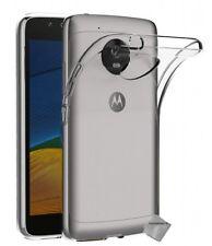 Housse etui coque gel fine pour Motorola Moto G5 + verre trempe - TRANSPARENT TP