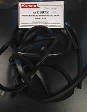 Tool box / glove box trim rubber black for Vespa PX & LML Star