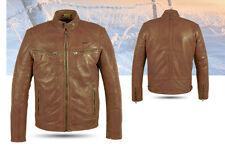 BIKER JACKET,jacket,LEATHER,MOTORCYCLE, LEATHER JACKET ATROX AT 839 Size M - 2XL
