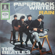"7"" The Beatles! paperback Writer + RAIN // VG + \ \"