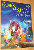 """Oliver und Olivia """"Zwei freche Spatzen"""" Filmplakat / Poster A1 ca 60x84cm"""