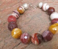 MOUKAITE MOOKAITE HUGE JAWBREAKER BIG NECKLACE MULBERRY YELLOW BERRY GEM JEWELRY