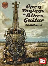 Open Tuning pour Blues Guitar Book/CD échelle & Chord Shapes DADGAD OPEN D G C