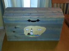 Medium Handcrafted Wooden Toy Storage Chest