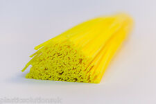 HDPE Plastic welding rods (5mm) yellow, pack of 20 pcs /triangular shape/