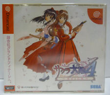 SAKURA WARS 4  SEGA DREAMCAST NTSC JAPAN BOXED