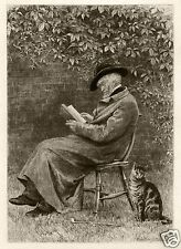 THOMAS CARLYLE ETCHING BY HELEN ALLINGHAM 1885