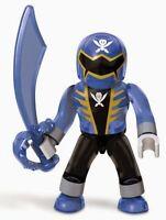 Mega Bloks Power Rangers Super Megaforce Series 2 Figure Translucent Blue Ranger