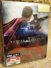 BATMAN V SUPERMAN DAWN OF JUSTICE Bluray HDZeta STEELBOOK Double Lenticular PET