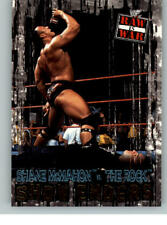 2001 Fleer WWE Raw is War #96 The Rock Shane McMahon