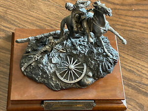 """Pewter Figurine """"The Rescue"""" 643/2500"""