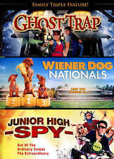 Family Triple Feature: Ghost Trap / Wiener Dog Nationals / Junior High S * NEW *