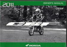2011 HONDA MOTORCYCLE CRF50F OWNERS MANUAL (870)