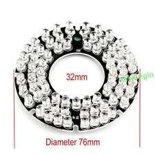 72 IR LED board Infrared 850nm/940nm bulb For Security CCTV Camera 76*76*32mm